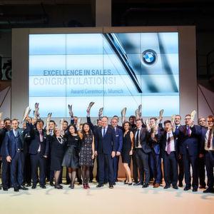 BMW zeichnet weltweit beste Händler aus