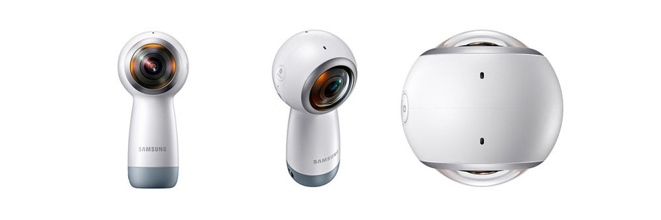 Samsungs Gear 360 filmt in 4K und sendet live