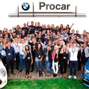 Ausgezeichnete Ausbildung bei Procar