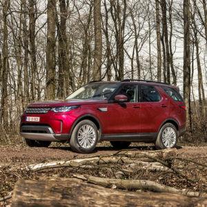 Land Rover Discovery: Mit Kurven ins Gelände