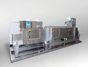 Die Durchlaufanlage Yukon DA von BVL kann in Produktionsprozesse integriert werden.