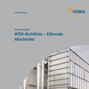 """Das neue VDMA-Positionspapier """"ATEX-Richtlinie – Filterndem Abscheider"""" dient als Anwendergrundlage für filternde Abscheider."""