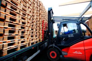 Holzpaletten machen 90 bis 95% aller Ladungsträger aus.