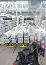 Für Transport und Lagerung von Flüssigkeiten werden IBC-Container eingesetzt.