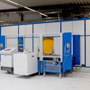 Die neue High-End-Entfettungsanlage bei der Richard Geiss GmbH.