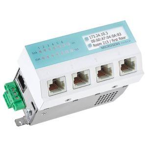 Medical Switch mit Stromversorgung über PoE