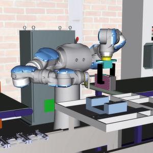 Der digitale Zwilling lässt sich in erster Linie als Satz von Computermodellen beschreiben.