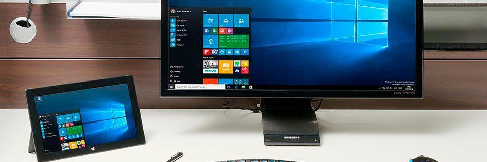 Windows10 wird in Unternehmen bereits häufiger eingesetzt als Windows8 und WindowsXP.
