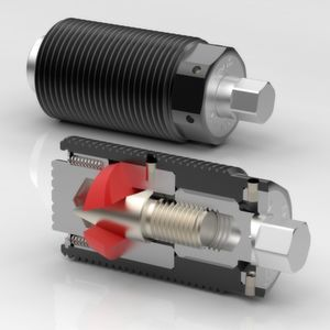 Power clamping screws for easy handling of tools and workpieces