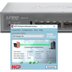 VPN-Remote-Access-Lösung für SRX-Gateways