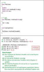 Bild 2: Aufruf statische Methode C++