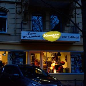 Kumpan eröffnet ersten Store in Wiesbaden