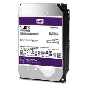 Die Helium-gefüllte WD Purple 10 TByte HDD ist für Überwachungssysteme konzipiert.