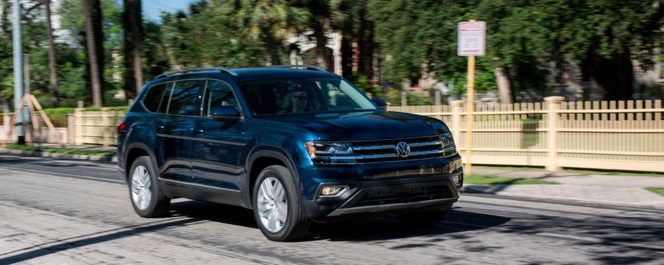 In den USA steht der Volkswagen Atlas kurz vor dem Marktstart.