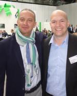 CEO Gustavo Möller-Herget (l.) und Geschäftsführer Stefan Klinglmair, ALSO, freuten sich auf eine erfolgreiche Hausmesse.