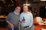 (l.) Andreas Raum, freyraum, und Michael Hase, IT-BUSINESS, deligieren lieber und...