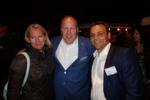 Das Lexware-Haufe-Team holte sich erstmal eine Stärkung: (v. l.) Christina Czernich, Martin Papendick und Attila Mekker