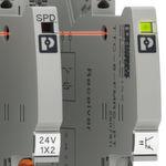 Integrierte Statusanzeige: Bei den Überspannungsschutz-Komponenten ist der Anwender jederzeit über den Zustand seiner Anlage informiert.