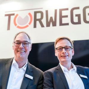 Uwe Eschment (l.) und Uwe Schildheuer bilden seit März die Doppelspitze beim Interlogistikspezialist Torwegge.