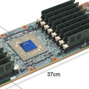 Morgenröte für Vektorrechner NEC Aurora