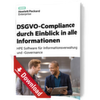 DSGVO-Compliance durch Einblick in alle Informationen