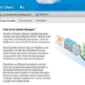 vSphere Update Manager (VUM) installieren und konfigurieren