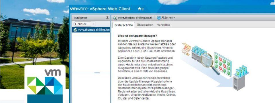 VMware vSphere Update Manager (VUM) spielt für ESXi eine ähnliche Rolle wie WSUS oder WDS in Windows Server und ist in Vsphere 6.5 erstmals vollständig in den Web Client integriert.