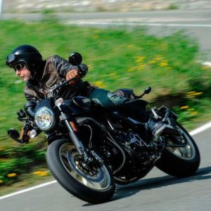 Gefahren: Ducati Scrambler Café Racer