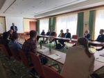 """In Roundtables mit den Keynote-Speakern konnten die Besucher die Themen tiefergehend diskutieren. Hier Dr. Markus Pleier zum Thema """"Quo Vadis Speicher? – Was passiert mit den Daten / Informationen? Cloud?"""""""
