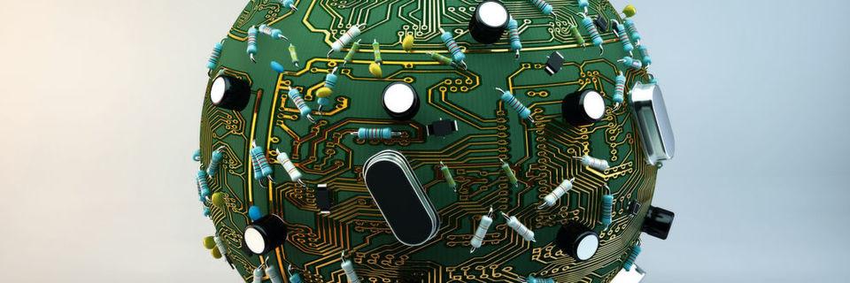 Auf der physischen Hardware laufen virtuelle Maschinen.