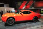 Ein echter Hingucker auf der New York International Auto Show ist der Dodge Challenger SRT Demon.