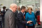Bilder von der Eröffnung des neuen Forschungs- und Entwicklungszentrums im Rahmen des 100-jährigen Firmenjubiläums von Viessmann.