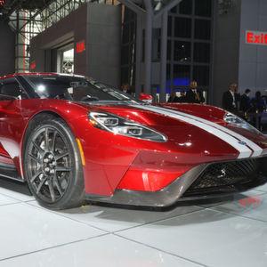 PS-starke Boliden wie der Ford GT haben bei der New York International Motor Show Oberwasser.