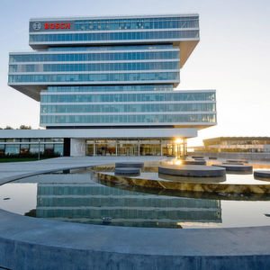 Der Forschungscampus von Bosch in Renningen. Von hier aus steuert das Unternehmen seine weltweiten Forschungsaktivitäten.