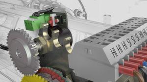 Der neue Stellungsrückmelder PAR 10 sorgt für ein sehr genaues Positionieren der Elektroantriebe von Lock. Es handelt sich um einen angepassten Multiturn-Drehgeber von Megatron.
