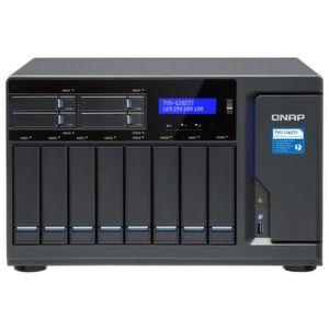 Mit seinen Thunderbolt-3-Ports eignet sich das Qnap TVS-1282T3 für Mac- und Windows-Umgebungen.