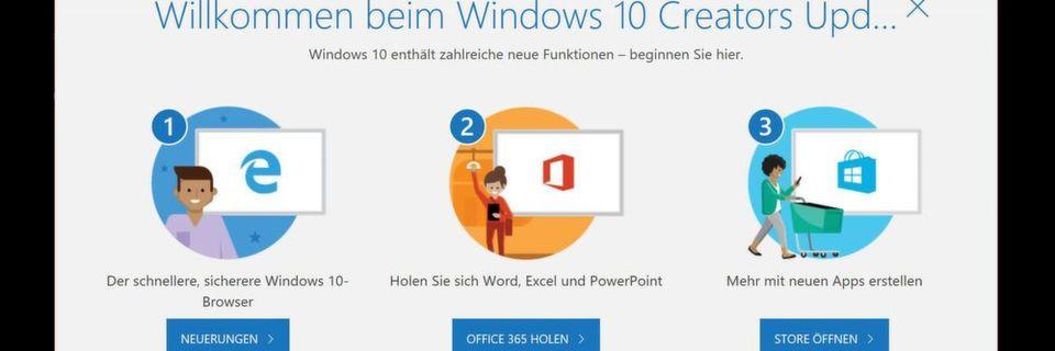 Nicht nur für Kreative: Das Creators Update enthält Verbesserungen, die für alle Windows-10-Anwender nützlich sind.
