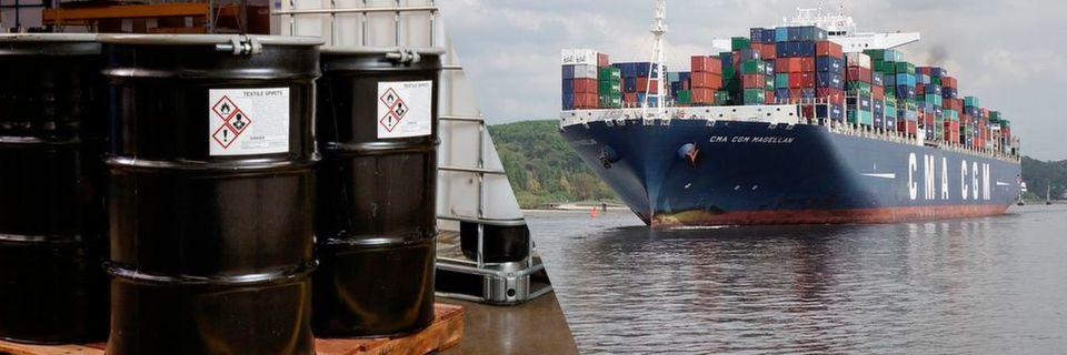 Die neuen, seewasserbeständigen Etikettenmaterialien von Brady sind beständig gegen Salzwasser und UV-Strahlung.