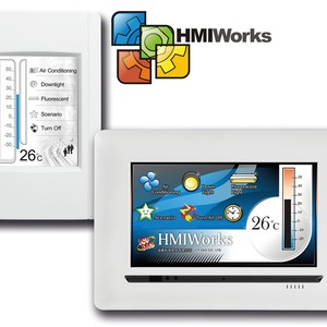 HMI Touchpads für die Gebäudeautomation