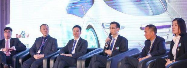 Vertreter von Bosch, AutoNavi, Baidu und NavInfo sprechen über ihre Zusammenarbeit.
