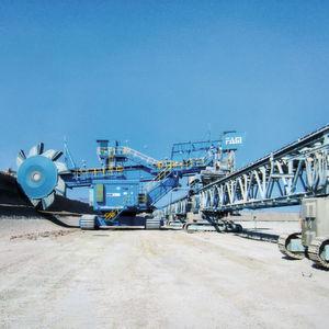 Gigantische Kräfte: Industriegetriebe für Tagebau-Großgerät