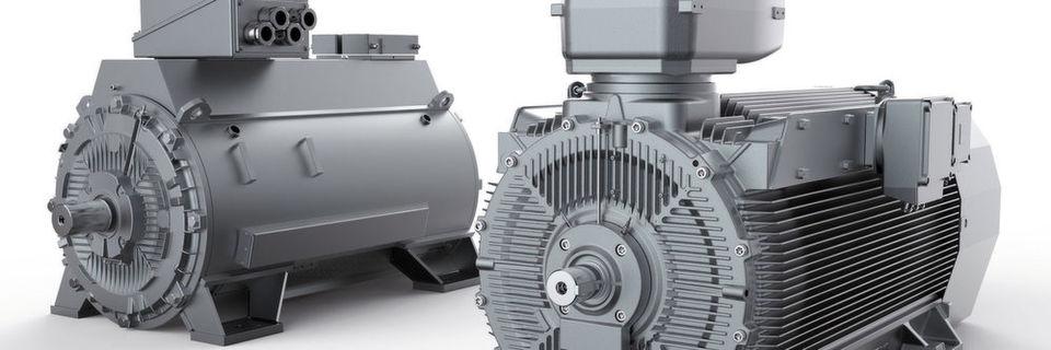 Aufgrund ihres Kühlungskonzepts und ihres Konstruktionsdesigns verbinden die neuen Hochspannungsmotoren Robustheit mit Leistungsdichte.