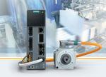 Mit dem Umrichter Sinamics S210, der speziell zur Verwendung mit den neu entwickelten Simotics S-1FK2 Motoren vorgesehen ist, bietet Siemens ein neues Servo-Antriebssystem mit fünf Leistungsklassen von 50 bis 750 Watt. Die Umrichter sind mit integrierten Sicherheitsfunktionen ausgestattet und ermöglichen eine schnelle Projektierung.