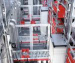 Podis, die flexible Stromschiene für die Industrie, eignet sich auchl für die Intralogistik.