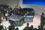 Modelle wie der Nio ES8 als Mittelklasse-SUV mit europäischen Design-Genen können sich sehen lassen.