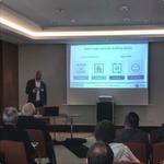 Timo Brüggemann von Tintri präsentiert VM-aware-Storage für die Enterprise Cloud.