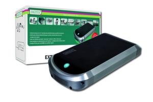 Das HDD-Gehäuse mit NAS-Funktion unterstützt SATA-Drives.