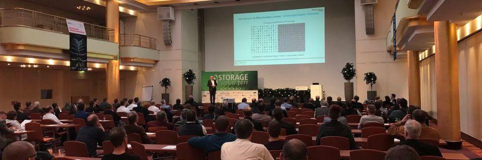 Wer etwas über die Storage-Zukunft erfahren will, der ist bei der Storage Conference 2017 an der richtigen Adresse.