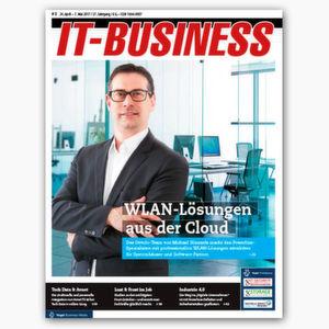 Früher informiert sein: die IT-BUSINESS 8/2017