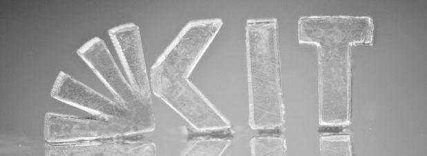 Komplizierte, hochgenaue Strukturen aus Glas lassen sich durch eine am KIT entwickelte Methode mittels 3D-Druck fertigen.